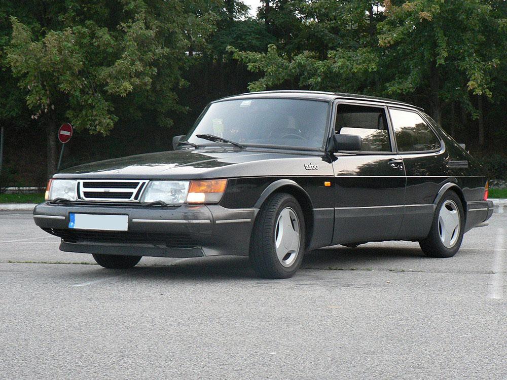 Saab 900 T16 aero 1988